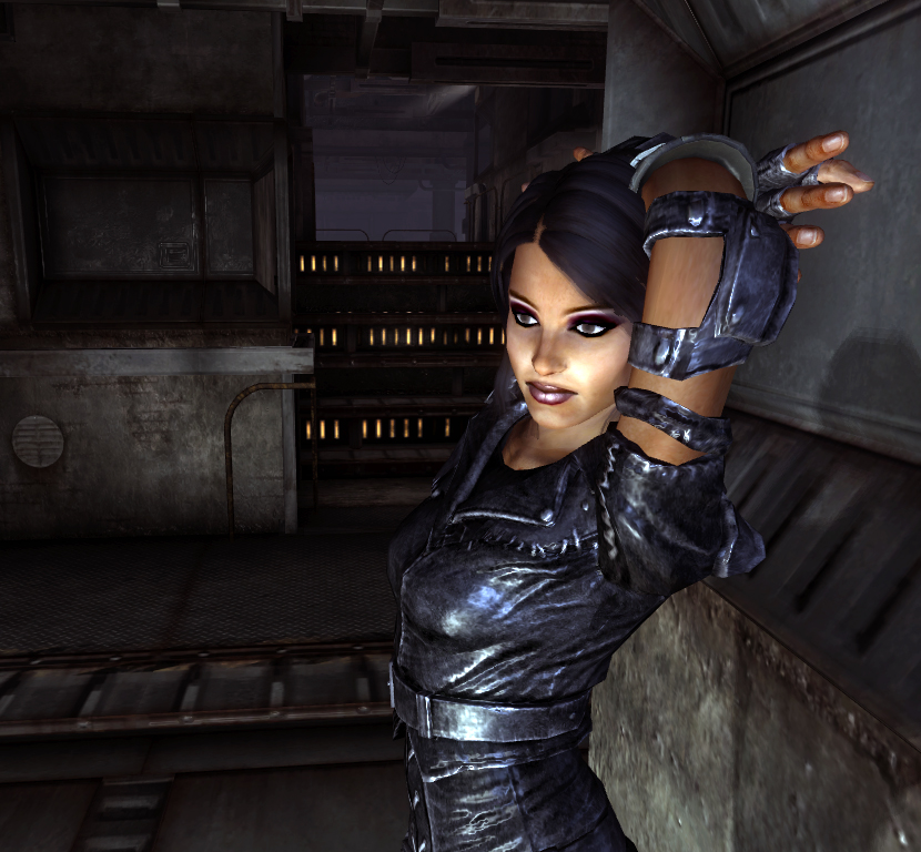 Fallout 3 мод на лица девушек