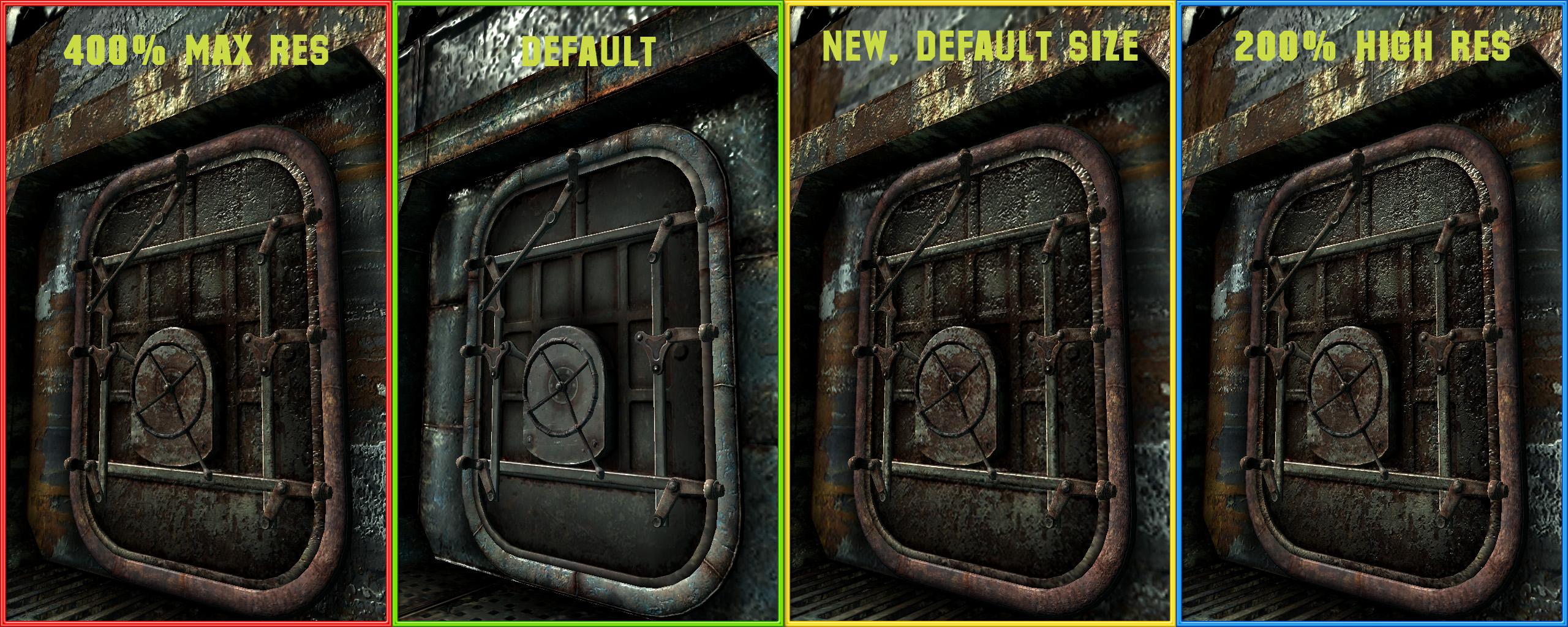Rivet City Texture Pack для Fallout 3 - Моды
