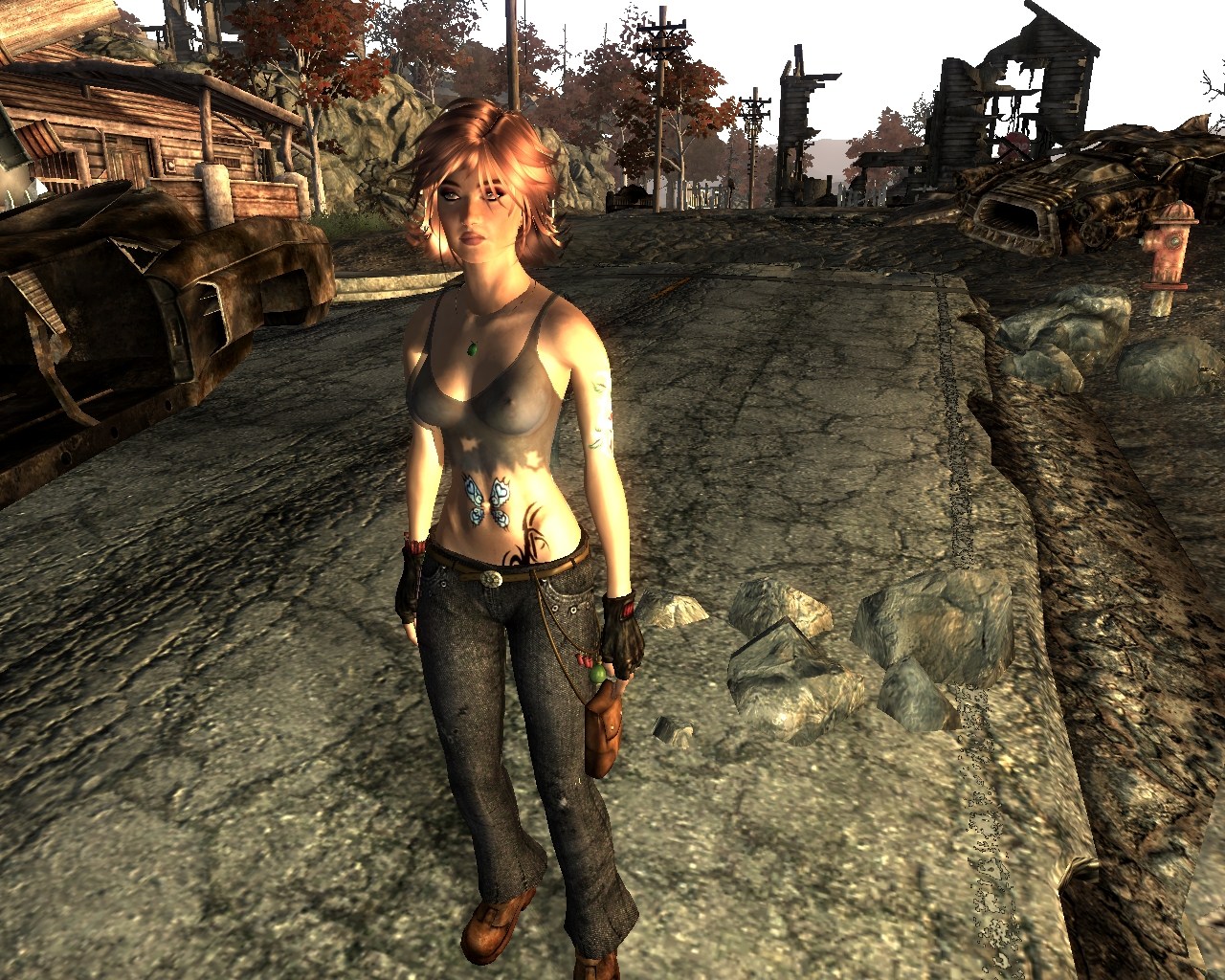 Fallout 3 nude humans mod adult scene