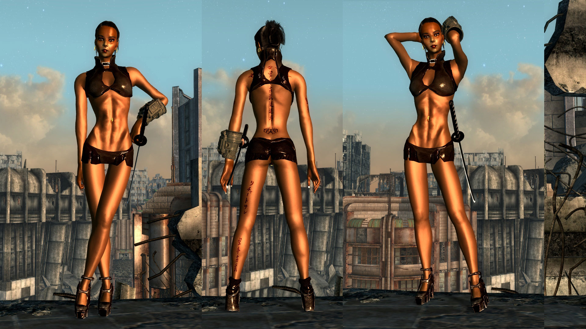 Fallout 3 nude female mods sexy images