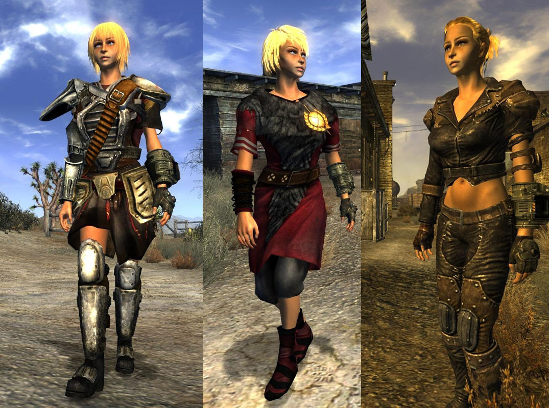 Type3 Body And Armor Replacer для Fallout New Vegas моды