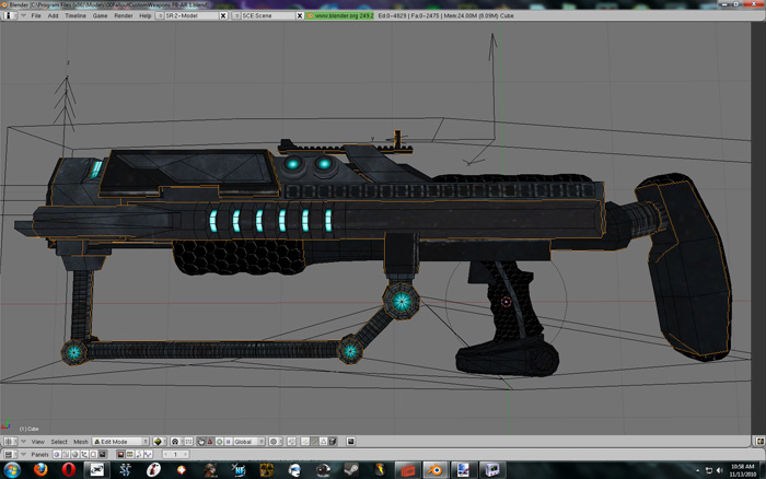 Arkarian Weaponry - Plasma Beam Assault Rifle
