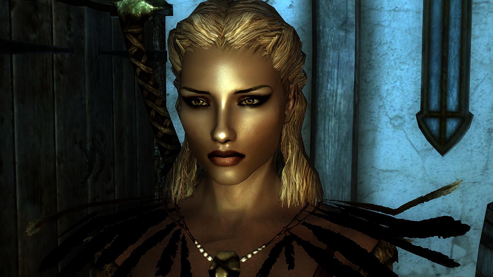 Как сделать красивый персонаж в skyrim 743