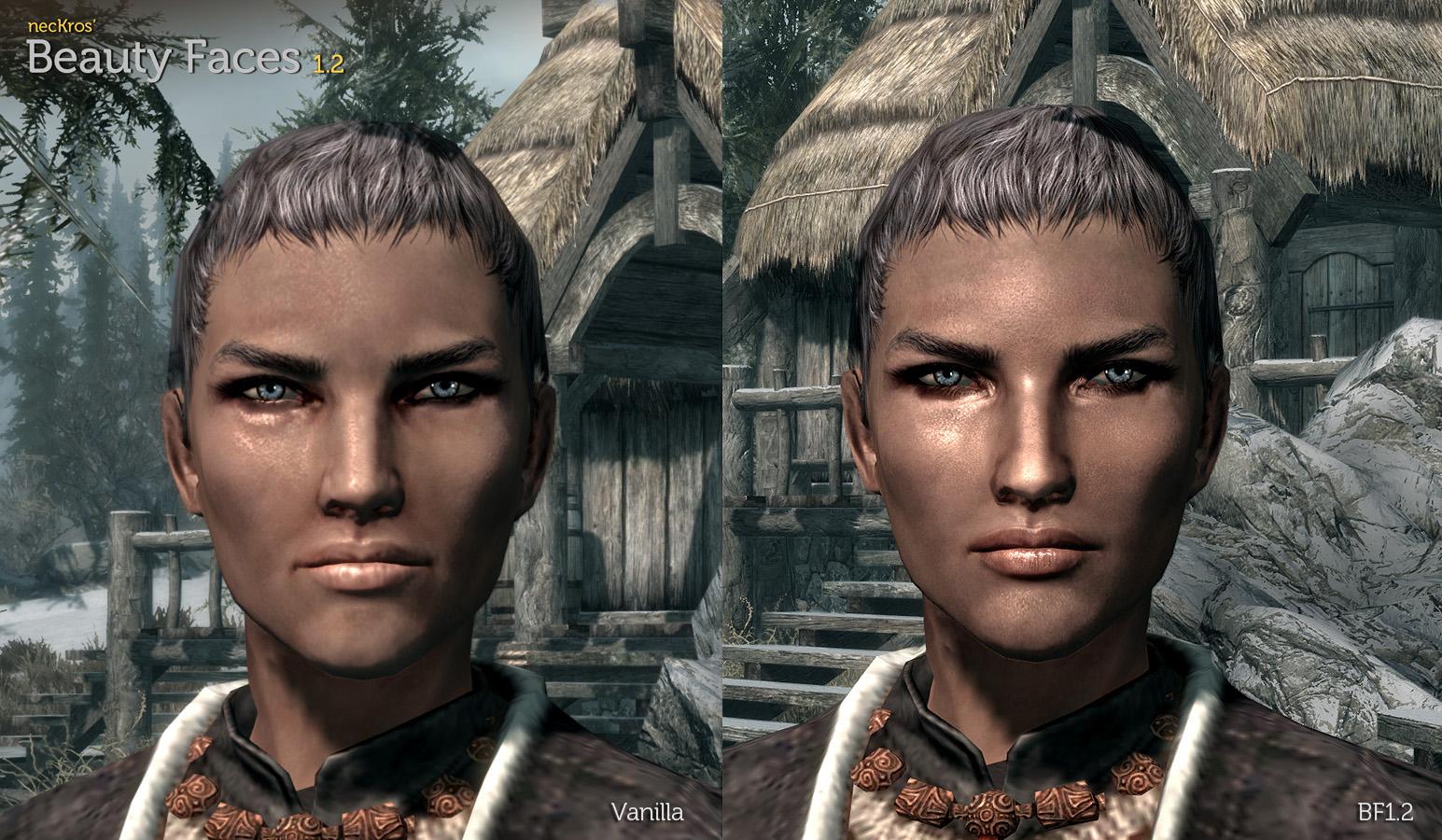 Как сделать персонажа красивее в skyrim