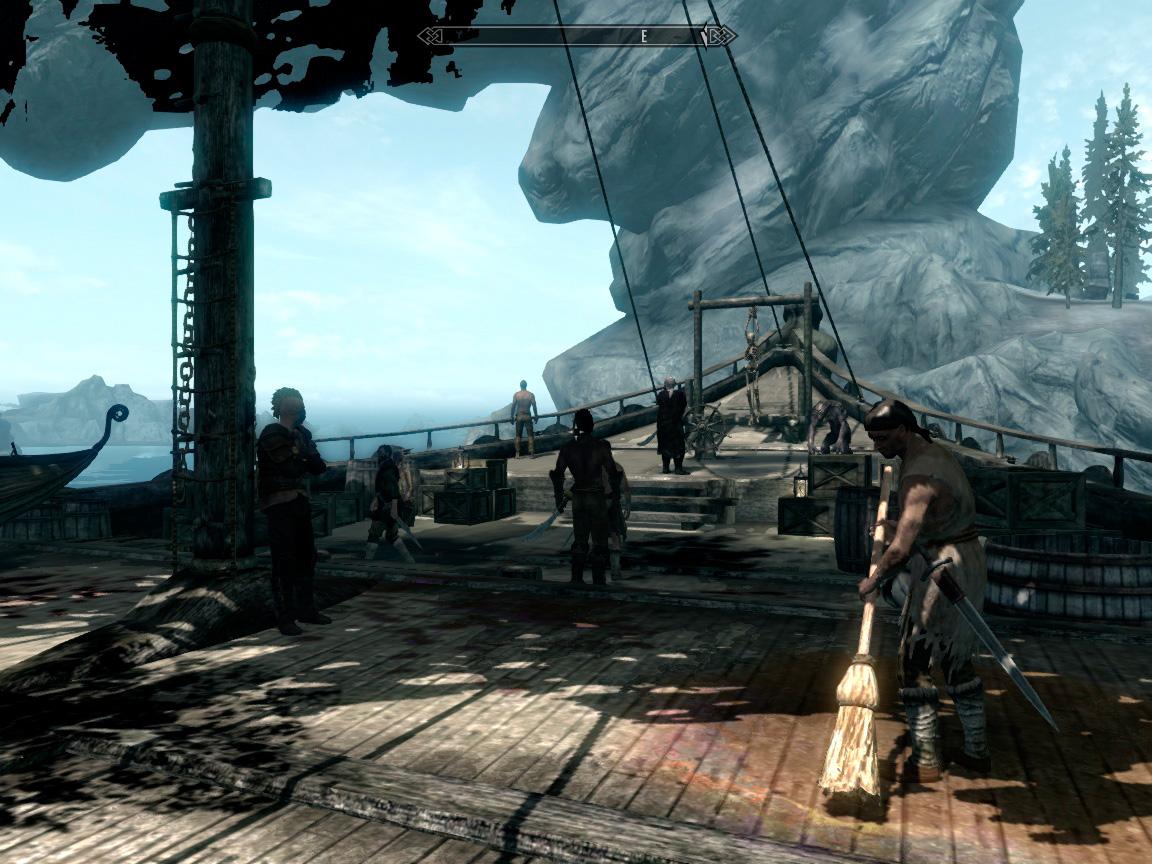 Скачать мод на скайрим на пиратов