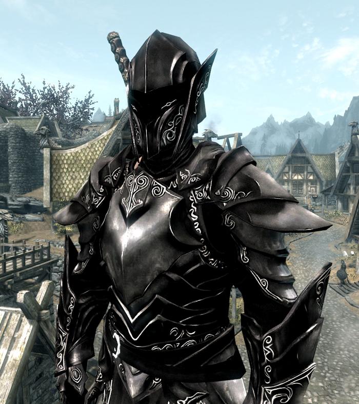 Добавление Стандартной Откровенной Брони Skyrim