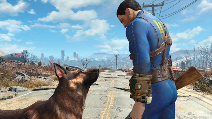 Первые скриншоты Fallout 4 из трейлера