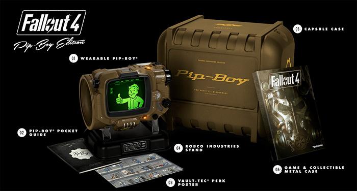 Стали известны телефоны, к которым подходит Pip-Boy Edition