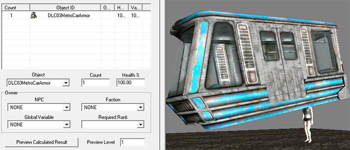 Движущийся поезд в Fallout 3 на самом деле шляпа
