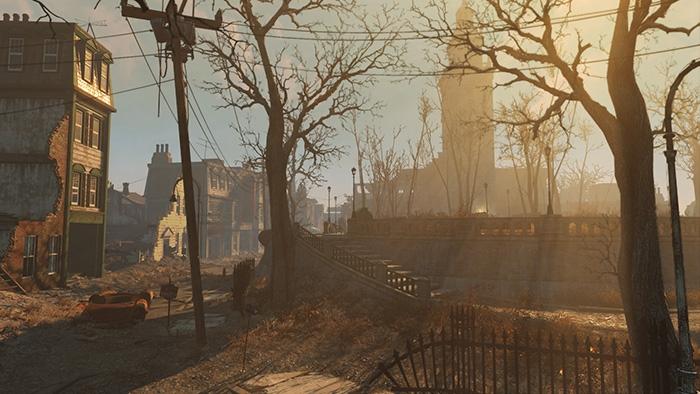 Графические технологии Fallout 4