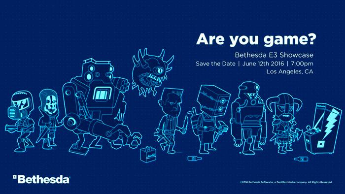 Bethesda проведёт пресс-конференцию на E3 2016