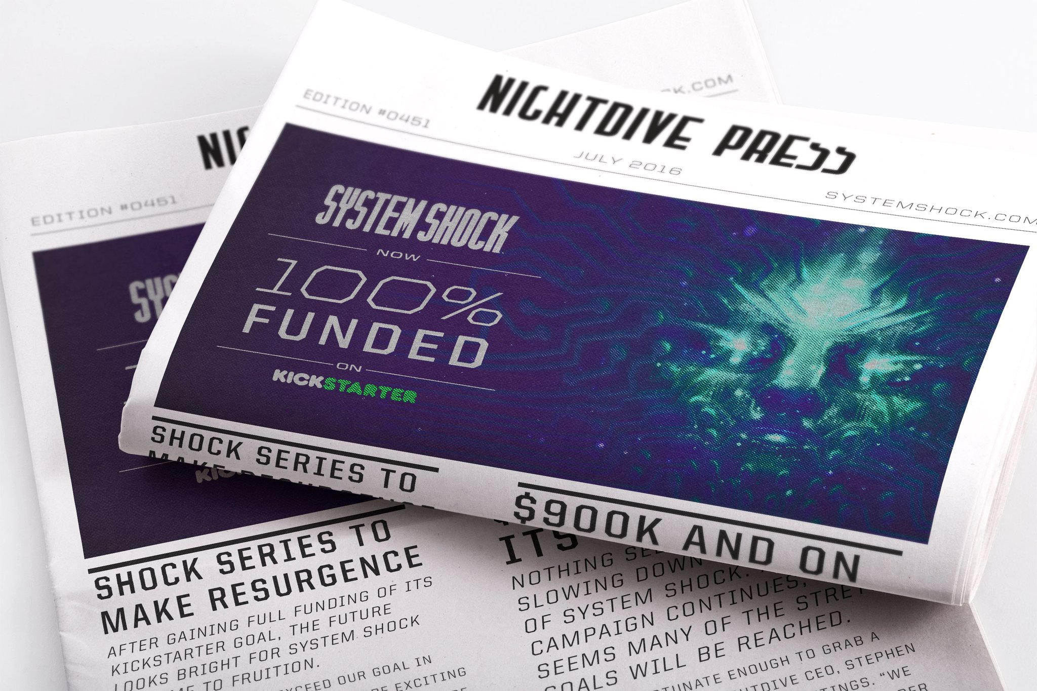 Кампания ремейка System Shock на Kickstarter успешно собрала 900 тысяч долларов