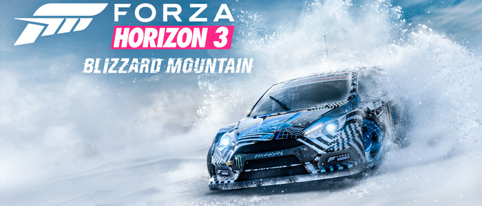 Зимнее дополнение Blizzard Mountain для Forza Horizon 3