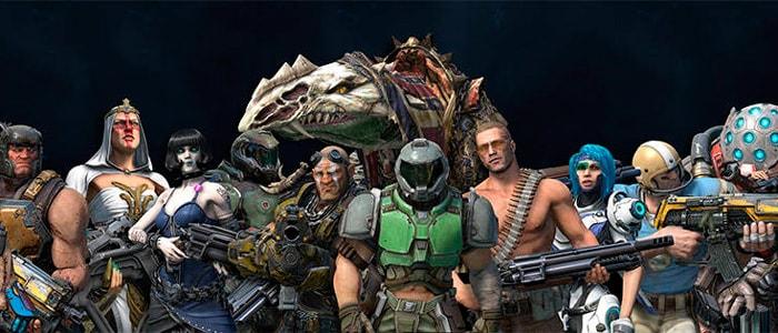 Quake Champions уже доступен в раннем доступе