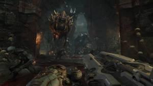 Стрельба по Какодемонам — Скриншоты Doom