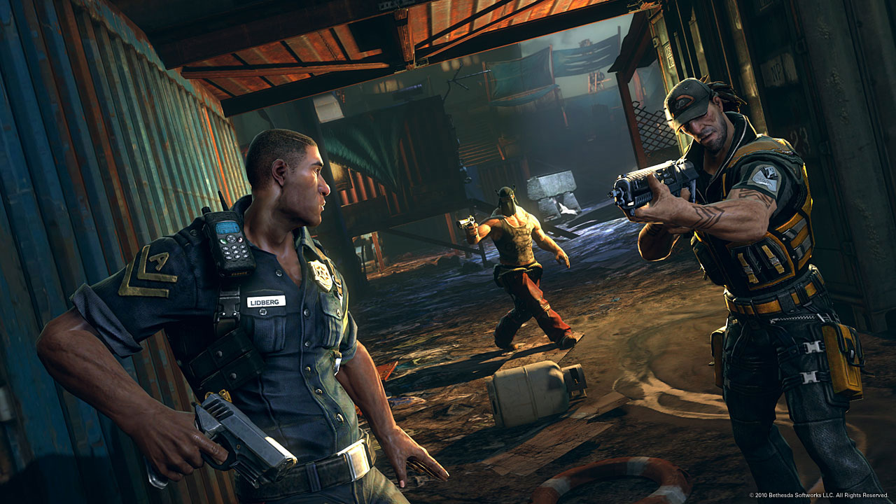 New Action Games For Ps3 : Brink Скриншоты