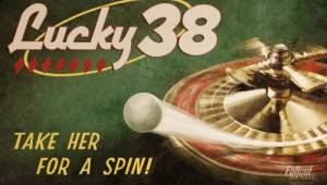 Lucky 38. Take her and spin! — Арты Fallout New Vegas