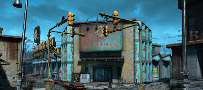 Fallout 4 Квест Квартирмейстер