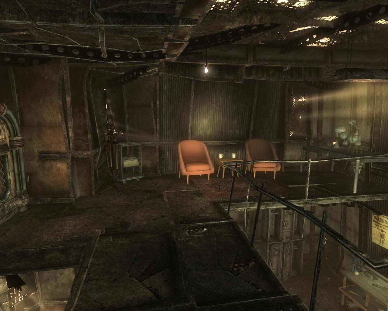 Fallout 3 мегатонна интерьеры