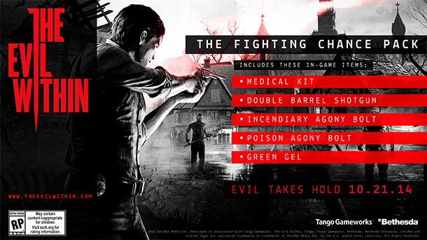 The Fighting Chance Pack для The Evil Within
