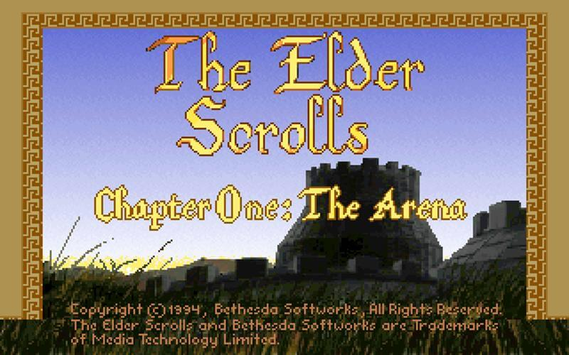 The Elder Scrolls Chapter One: Arena